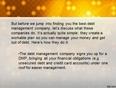 Bradley associates amends company debt management success