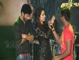 Shraddha Kapoor Forces Shahid Kapoor To Pose For Media-Haider Trailer
