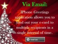 IPhone Greetingz application - Different methods to send out e-cards to your loved ones
