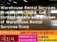 Warehouse Rental Services Providers in India. Get contact details and address of Warehouse Rental Services firms