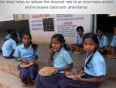 Akshaya patra mid day meal programme in government schools