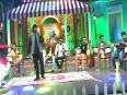 Singer Adarsh Shinde On The Sets Of Chala Hawa Yeu Dya - Comedy Marathi Show