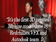 First Look   Shah Rukh Khan Life Size 3D Printed Model