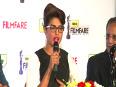 Priyanka Chopra Unveils 59th Filmfare Trophy
