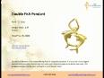 Budget gold pendant