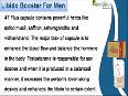4 - Herbal Libido Booster For Men