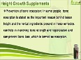 8 - Natural Height Growth Supplements