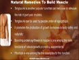 Ayurvedic natural remedies to build muscle in safe manner