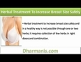 Herbal Treatment To Increase Breast Size Naturally And In A Healthy Way