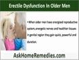 Natural Treatment For Erectile Dysfunction In Older Men