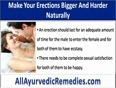 How To Make Your Erections Bigger And Harder During Lovemaking