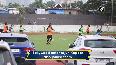 MS Dhoni, Shreyas Iyer, Arjun Kapoor play football together