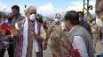 Manoj Sinha arrives in Srinagar to take charge as Lt Governor of J-K.mp4