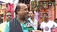 Vijaya Dashami Devotees offer prayers at Dashanan Temple in Kanpur