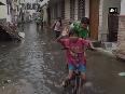 Heavy rain causes water logging in Gorakhpur