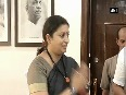 Smriti Irani takes additional charge of Information and Broadcasting Ministry