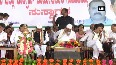 WATCH: K'taka CM Siddaramaiah dozes off during party event