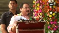 JP Nadda talks about Parliament s productivity in Jharkhand s Chaibasa