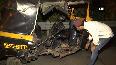 Car, auto rickshaw collide on Mumbais Eastern Highway, two injured