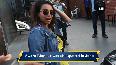 Sunny Leone, Swara Bhaskar spotted in Juhu