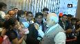 Indian community greets PM Modi in China