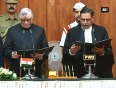 P sathasivam takes oath as governor of kerala