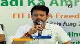 Anurag Thakur launches Fit India Freedom Run 2.0
