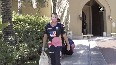 IPL 2020 Rajasthan Royals team leaves for Dubai Stadium to lock horns with RCB.mp4