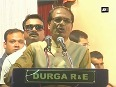 Shivraj Chouhan distributes crutches to specially abled people on his birthday