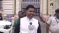 RJD MLAs protest in State Assembly premise over sale of liquor in Bihar