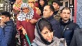 Watch: Mehbooba warns of consequences after cops allegedly harass terrorist's sister