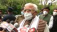 CM Khattar discusses COVID situation, farmers agitation with HM Shah