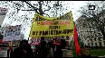 Sindhi Baloch Forum holds anti-Pakistan protest on International Human Rights Day