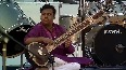 Usha Uthup performs Tagore s rendition Ekla Cholo Re at Bose event