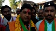 Watch: Local greets BJP candidate with garland of shoes