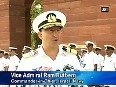 Indian Navy gives guard of honour to Israeli Navy Chief Ram Rutberg