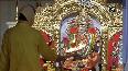 Watch Morning aarti of Goddess Durga at Jhandewalan Temple on Mahanavami