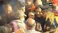 Mortal remains of Major Chitresh Singh Bisht arrive in Dehradun