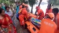 NDRF rescues pregnant woman flood-affected area in WB
