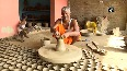 Potters making 1.25 lakh earthen lamps for Ram Temple bhoomi pujan.mp4