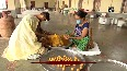 Preparations of laddoo underway to offer as bhog for Ram Temple foundation stone laying ceremony.mp4