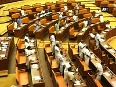 Protests against CM Chandy inside Kerala Assembly