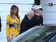 Prime Minister Narendra Modi leaves from White House