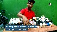 Coimbatore student paints 100 cartoon characters on egg shells