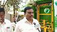 Karnataka man makes underground dustbin