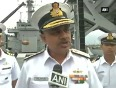Indian navy prepares for cyclone hudhud