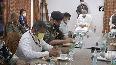 HM Shah, CM Baghel hold meeting over Naxal Attack in Chhattisgarh