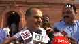 Congress Adhir Chowdhury apologises to PM Modi on his naali remark in Lok Sabha