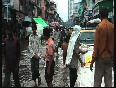 Heavy downpour in Mum brings respite as well as problems