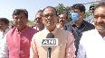CM Shivraj Singh Chouhan pays last respect to Sepoy Karnveer Singh
